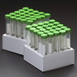 Celltreat 15 mL Centrifuge Tubes Paperboard Racks 229410