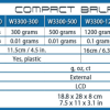 Accuris 1200 g compact lab balance