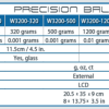 Accuris 1200 g precision lab balance
