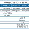 Accuris 5000 g precision lab balance