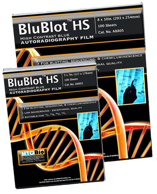 MTC Bio BluBlot HS A8803 A8805