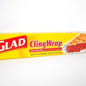 Glad Cling Wrap Clear Plastic Wrap