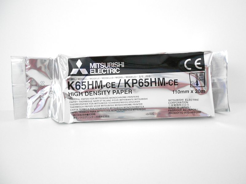 Mitsubishi High Density Thermal Paper K65HM-ce KP65HM-ce