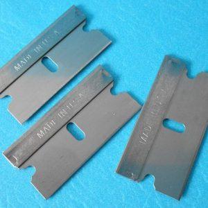 Morganville Scientific Single edge razor blades size 12