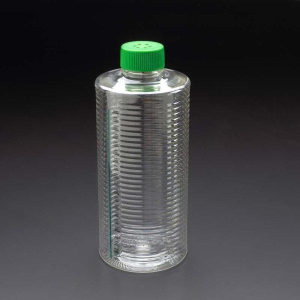 Celltreat 1900 cm2 TC treated plastic roller bottles 229387 229386
