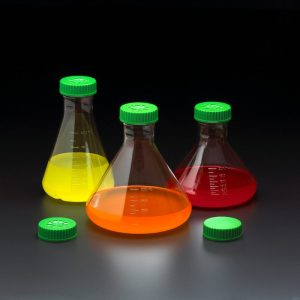 Celltreat 2 L plastic Erlenmeyer culture Flask 229894 229895