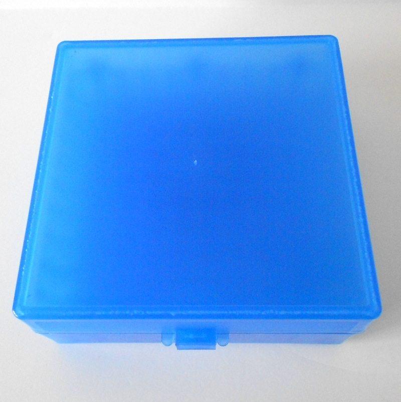 Plastic Freezer Storage Box Hinged Lid