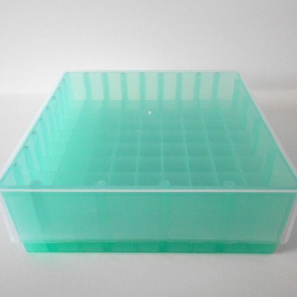 MTC Bio Tube Storage Box, removable clear lid