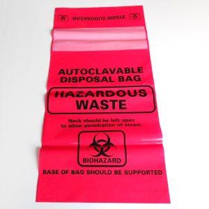 MTC Bio Large Biohazard Bags A9002R A9002C