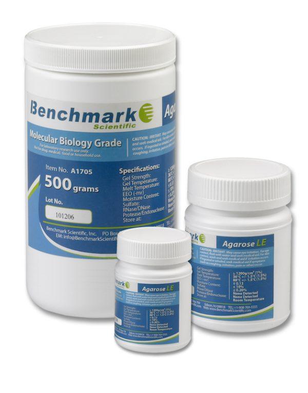 Benchmark Scientific Agarose LE Molecular Biology Grade A1705 A1701 A1700