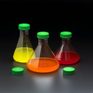 Fernback Erlenmeyer Culture Flasks
