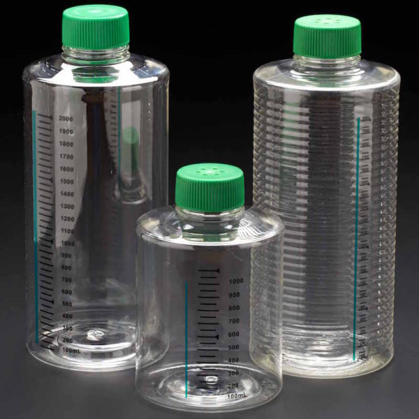 Celltreat Untreated Roller Bottles