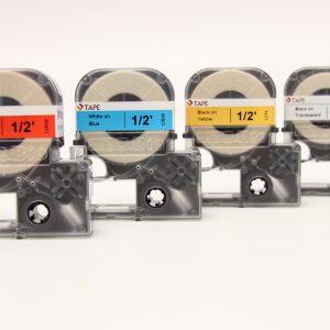 MTC Bio Labeler Label Tape 12 mm 26 feet L9010-12WK L9010-12CK L9010-12YK L9010-12RW L9010-12BW L9010-12GW