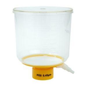Celltreat 1000 mL Bottle Top Filters Polystyrene PES 0.45 um Filter 229714
