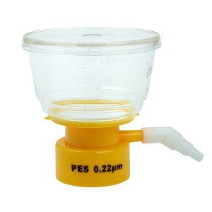 Celltreat 150 mL Bottle Top Filters Polystyrene PES 0.22 um Filter 229715