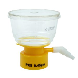 Celltreat 150 mL Bottle Top Filters Polystyrene PES 0.45 um Filter 229711
