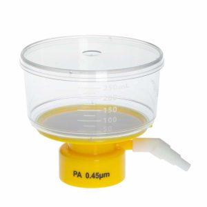 Celltreat 250 mL Bottle Top Filters Polystyrene Nylon 0.45 um Filter 229732