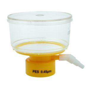 elltreat 250 mL Bottle Top Filters Polystyrene PES 0.45 um Filter 229712