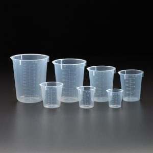 Celltreat 250 mL Polypropylene Beakers 230515