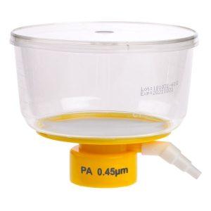Celltreat 500 mL Bottle Top Filters Polystyrene Nylon 0.45 um Filter 229733