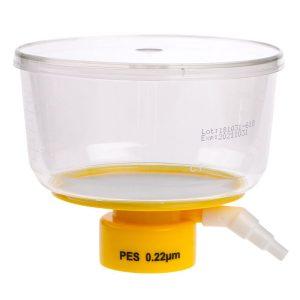 Celltreat 500 mL Bottle Top Filters Polystyrene PES 0.22 um Filter 229717