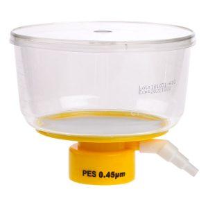 Celltreat 500 mL Bottle Top Filters Polystyrene PES 0.45 um Filter 229713