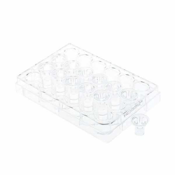 Celltreat Permeable Cell Culture Inserts 8 um Polyethylene 24 Well 230639