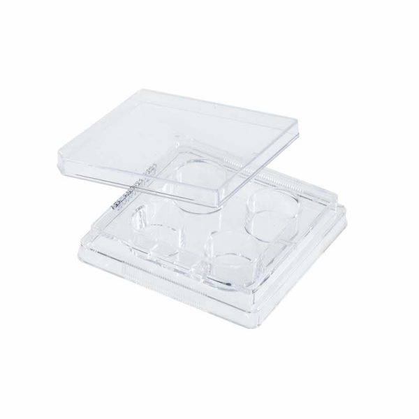 Celltreat Untreated 4 Well Cell Culture Plates 229503