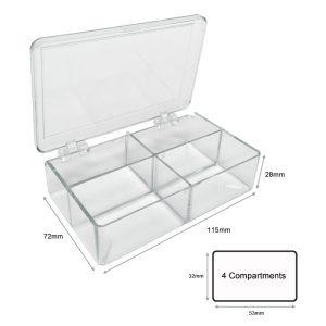 MTC Bio 4 Compartment Multibox Western Blot Boxes B1203